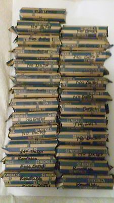 1000 buffalo nickels. 760 no dates and 240 readable and full dates. PDS