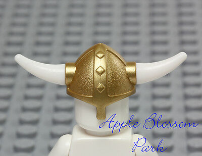 LEGO® VIKINGS Accessories Viking Speckled HELMET Bent Style Horns /& Battleaxe