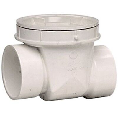 "4"" PVC Pipe Backwater / Check Valve"