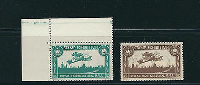 GREAT BRITAIN 1923 ROYAL HORTICULTURAL HALL stamp Exhibition MNH *CINDERELLA*