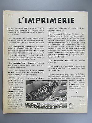 L'Imprimerie, French Language Publication on Printing, with Illustrations