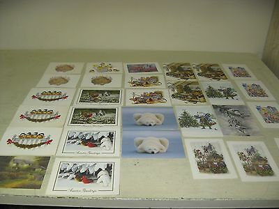 Collectible Lot Of 29 National Wildlife Federation  Mixed Lot Of Greeting Cards