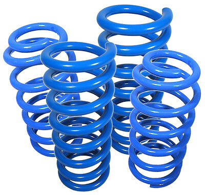 92-01 Honda Prelude Si Type-Sh BB2-BB6 Suspension Coil Lowering Spring Kit Blue