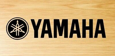 2x Yamaha motorcycle motorbike decal sticker logo choose your colour.