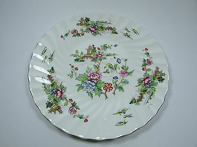 Crown Staffordshire Hand Painted Pagoda Pattern Large Plate c.1975-79
