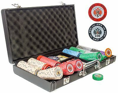 """Exclusive Poker Chipset - 320 heavy weight chips - """"Russian Classic-3"""""""