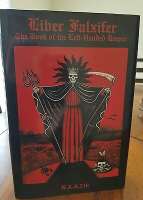 Liber Falxifer 1st Edition Book of the Left-Handed Reaper Grimoire Ixaxaar