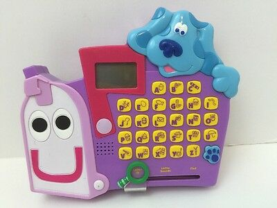 Blues Clues Alphabet Mailbox Electronic Educational Learning Computer Game 2000