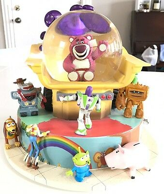 Rare Disney Toy Story 3 Large Snowglobe Musical You've Got A Friend In Me As Is
