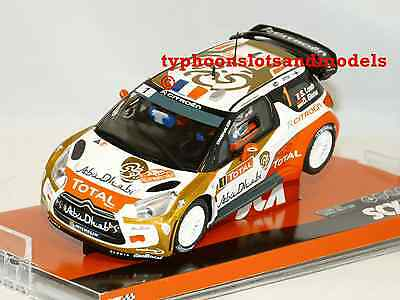 A10158 SCX Citroen DS3 'Abu Dhabi' - Loeb - New & Boxed