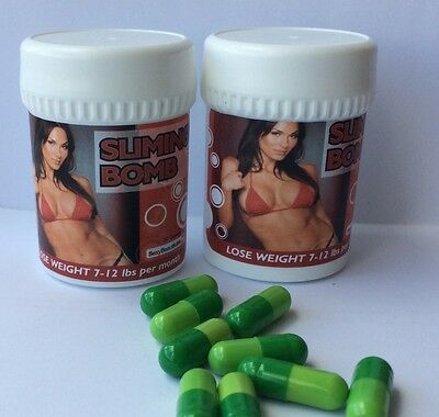 2 Bottles Of 2017 Slimming Capsule-Quick&super Powerful Weight Loss Accelerator