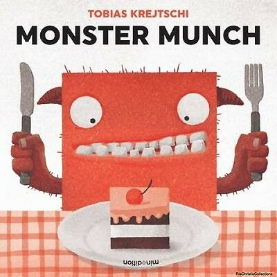 Monster Munch T. Krejtschi Paperback New Book Free UK Delivery