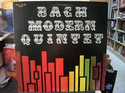 CLASSICAL LP: BACH Modern Quintet Vol.1 FRANCE Jacques Canetti