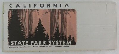 Vintage California State Park System Map                 (Inv13211)