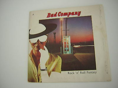 Bad Company 45 Picture Sleeve Promo Copy Rock  Roll Fantasy Paul Rogers 1979