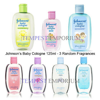 Johnsons Baby Cologne Selection 125ml Random Selection of 3 Fragrances