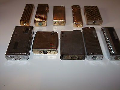 Mixed Lot of Vintage Lighters - Ronson,Colibri,Kingstar,Volcan,Kingsway,Penguin