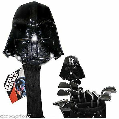 New Official Star Wars Darth Vader Golf Rescue Or Hybrid Wood Cover.