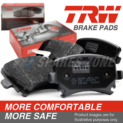 4 pcs Rear TRW DISC BRAKE PADS For BMW 325i E46 Sedan 12/97-7/06