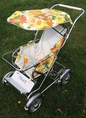 Nice Vintage Aoba Pram Stroller Carriage Baby Buggy - Made in Japan