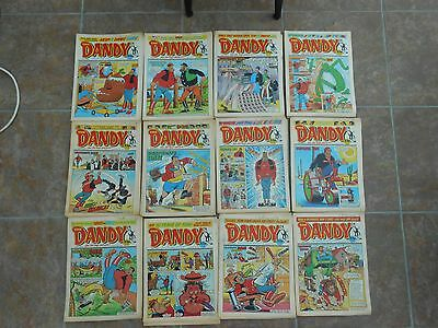 The DANDY  48 Issues  -Whole of  1989 missing 4 issues (run 2459 -2510)