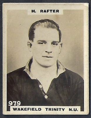 Pinnace Football-Photo Back-#0979- Rugby - Wakefield Trinity N.u. - H. Rafter