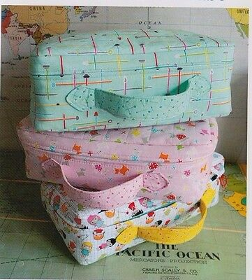 PATTERN - Small World Suitcase - fun storage toy PATTERN - Ric Rac