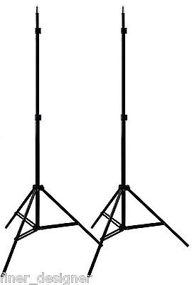 """2 x 7' 4"""" (88"""") Light Stand Photo Video Studio Lighting photography stands NEW"""