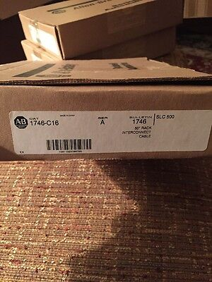 ALLEN BRADLEY 1746-C16 Interconnect Cable Series A **NEW**