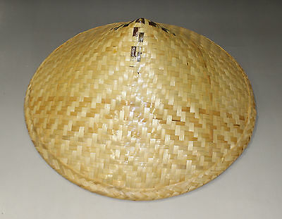 Cool Conical Asian Bamboo Hat suge kasa Henro Pilgrimage Plain New