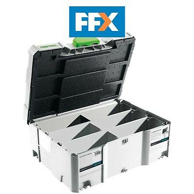 Festool 498889 SORT-SYS DOMINO Systainer T-Loc Empty Box for Dominoes