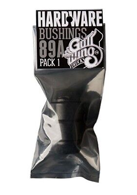 Gullwing Lenkgummi Concicle Bushings 89A - Black GWBU89CB