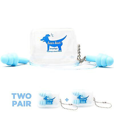 2-Pack Ear-Plugs by Hear Bud - Quality Deep Sleep , Safety , Comfort , and High