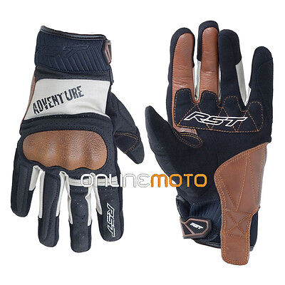 RST 2109 Adventure Ce Motorcycle Glove Black/Silver