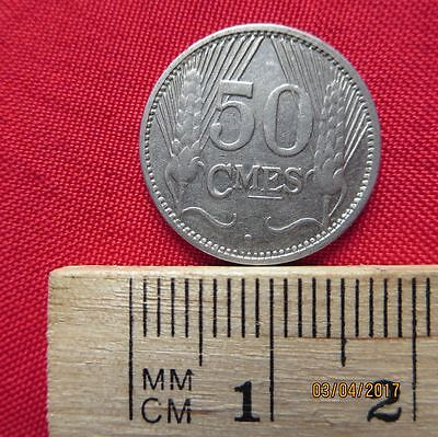 Luxemburg - Luxembourg 50 Centimes 1930 - V