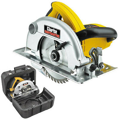Clarke Ccs2 185Mm 1300W Circular Saw 230V Wood Woodwork 6462040
