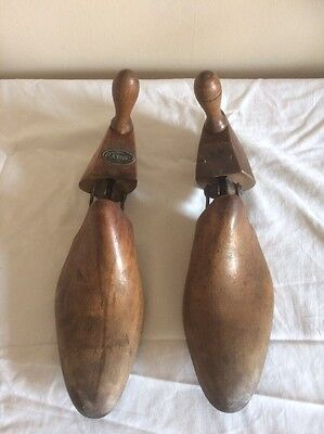 Vintage Wooden Shoe Stretchers Saxone