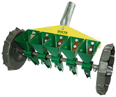 Precision Garden Seeder Manual SMK-5 for sowing small seeds in 5 rows Brand New