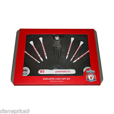 Liverpool Fc Executive Golf Gift Set.