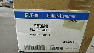 Eaton Bpc3001G05 P3F362R Powr-Way Iii Fusible Busway Switch 60A 600V 3Ph