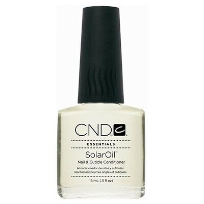 CND ESSENTIALS SOLAR OIL NAIL AND CUTICLE CONDITIONER - 15ML Boxed