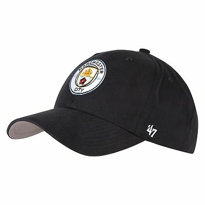 47 Brand Football Soccer Childrens Kids Manchester City 47 MVP Cap Hat - Navy