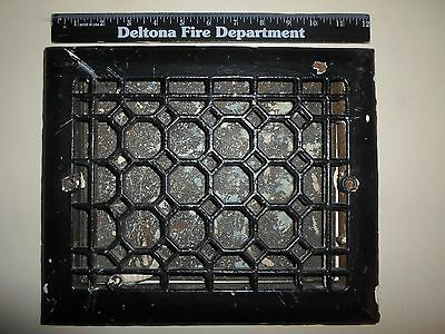Vintage Cast Iron Heating-Air Grates W/ Baffel