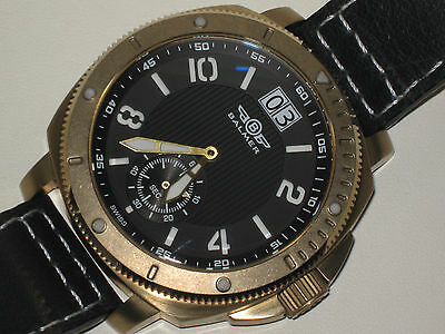 RARE BALMER Bronze 200 M Swiss Made Diver Watch--Limited Edition of ONLY 99 Made