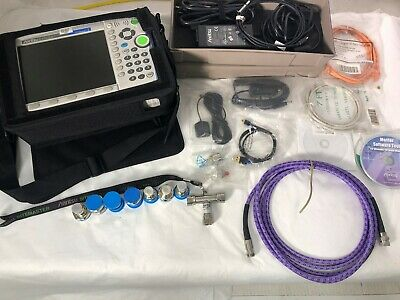 Anritsu MT8221B BTS Master 2 Port Cable and Antenna Analyzer 400MHz to 6GHz