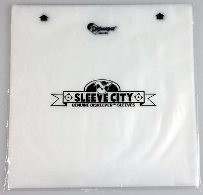 Diskeeper 2.0 Anti-Static Record Sleeves (50 Pack)