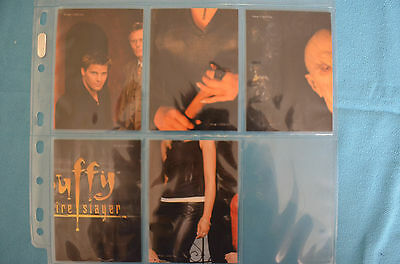 Buffy trading cards various seasons, portrait part sets