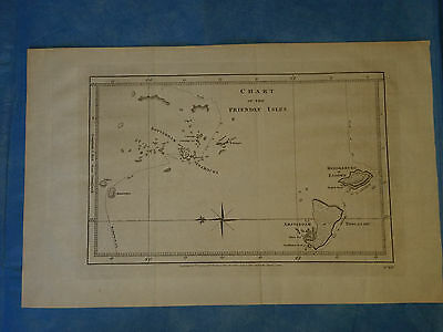 TONGA, 'Friendly Isles' - Cook, dated 1777