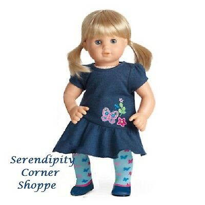 American Girl Bitty Twin Blonde Hair Blue Eyes Girl New - No box top
