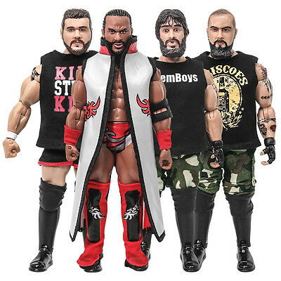 Ring of Honor Wrestling Action Figure Series 1: Set of all 4 [Loose Factory Bag]